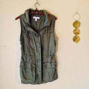 Kenneth Cole Reaction Hooded Vest S